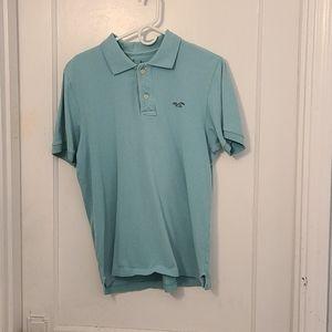 Hollister Short Sleeved Polo Shirt 👕  Large